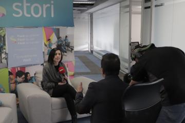 Marlene Garayzar en entrevista con El Heraldo